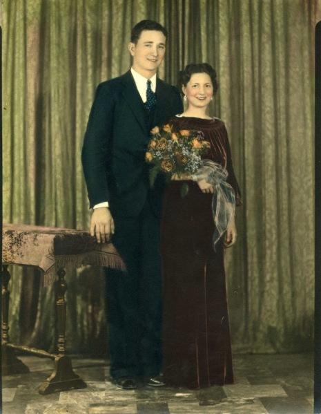 Wedding Picture - November 16 1935
