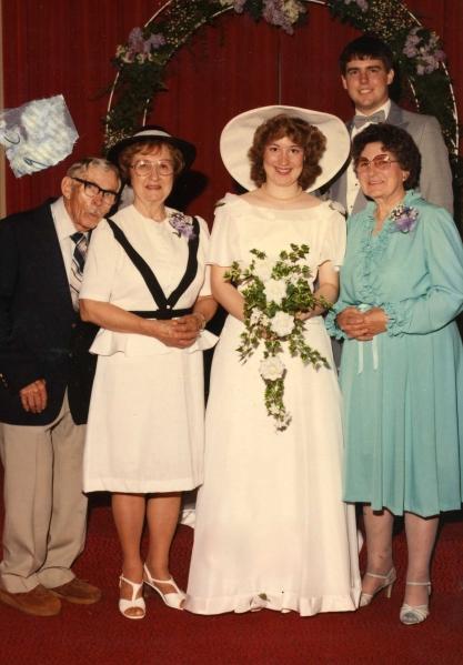 Paul and Maxin Malcolm, Kelly & Darin Sloan, Audrey