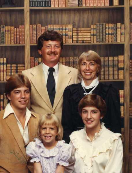 Jason, Allison, Julene, Tom and Fred 1984