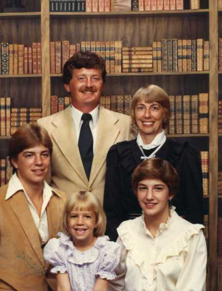 Jason, Allison, Julene, Tom and Fred 1984