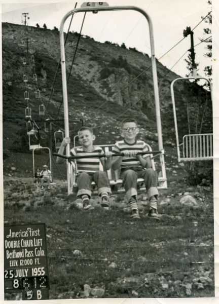 Steve and Tom 1955