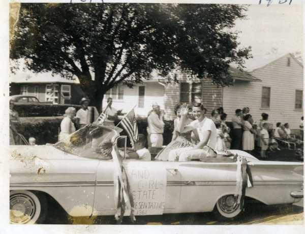 Tom in Altoona parade